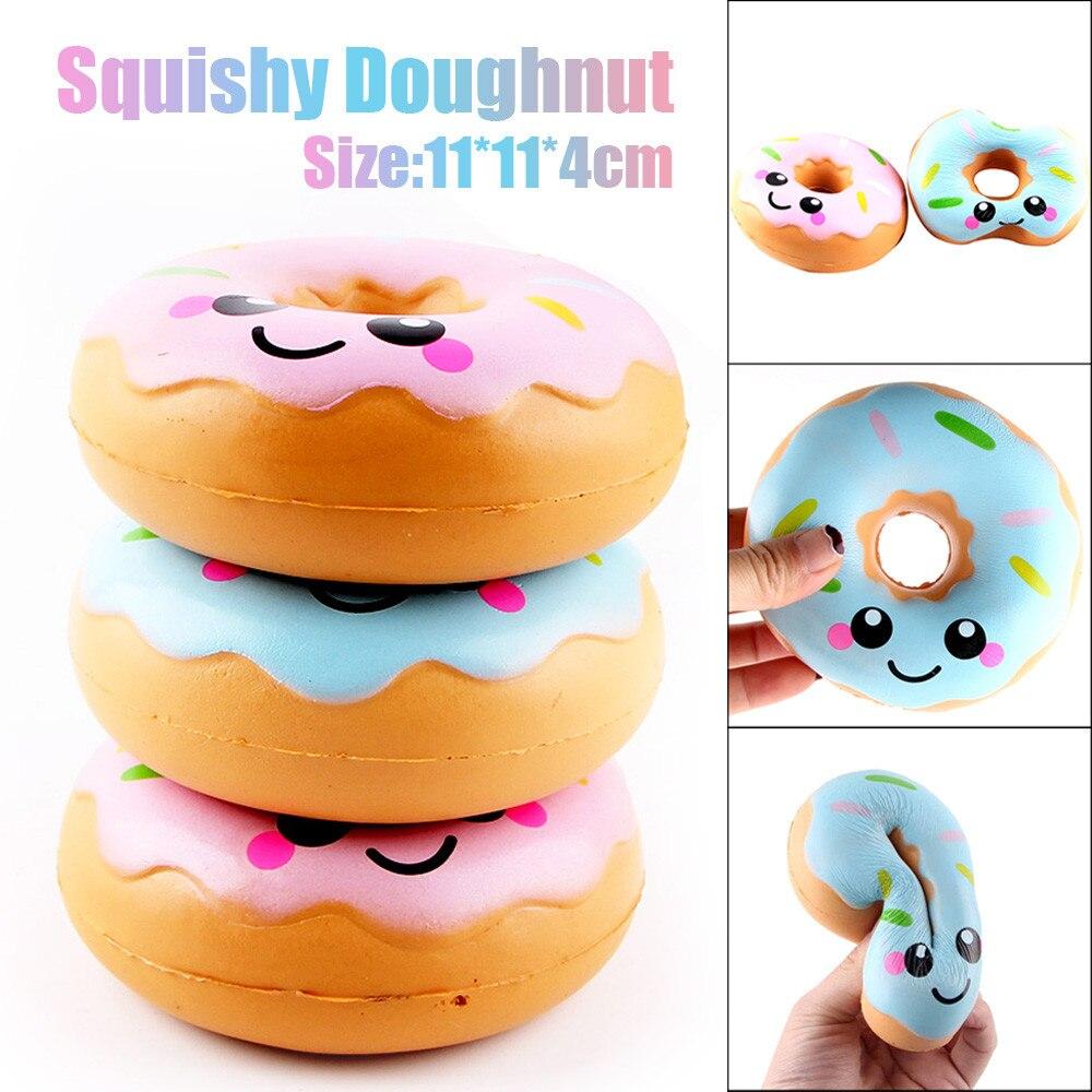11 cm precioso donut juguetes crema perfumada juguetes colección aplasta juguetes para niños niño A1