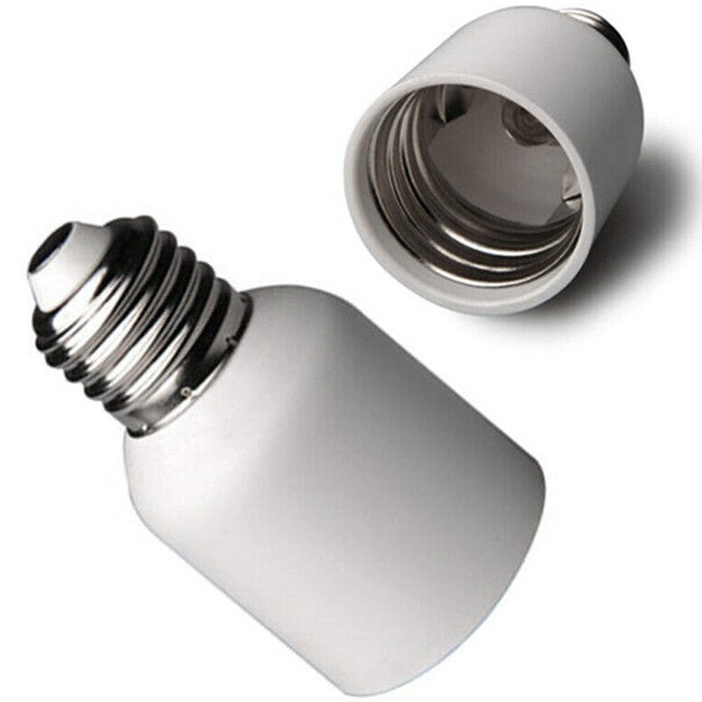 E27 a E40 enchufe blanco de luz media ligera Led resistente al calor para el hogar lámpara adaptadora soporte convertidor Base de tornillo bombilla ignífuga