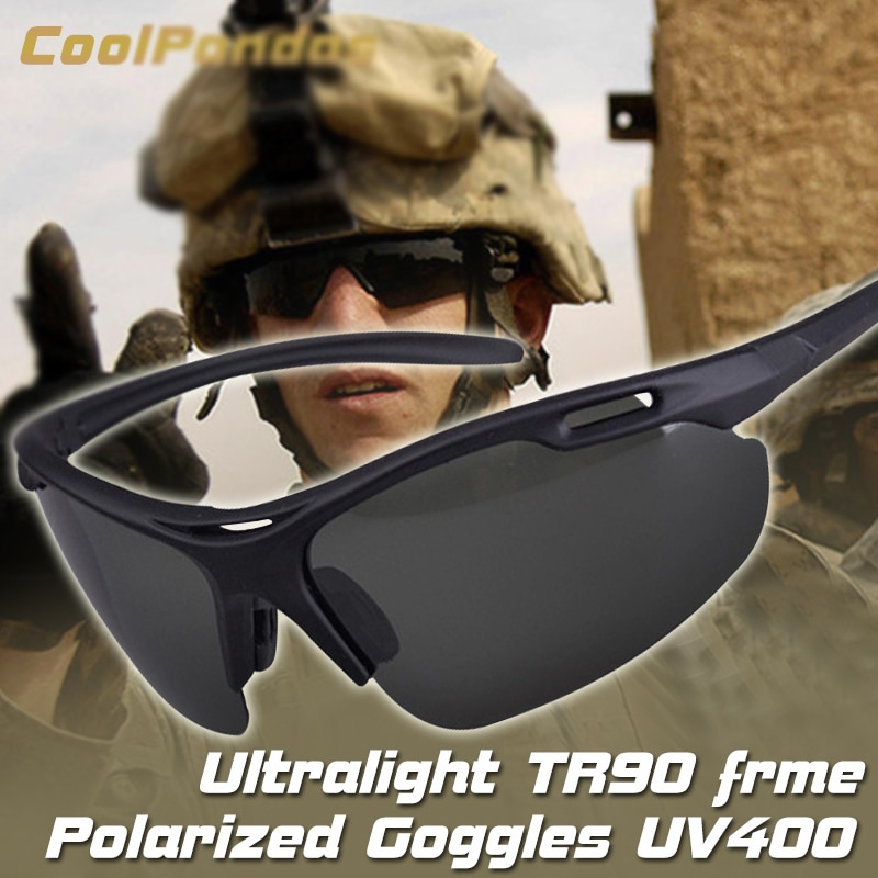 Brand Design Sports Sunglasses Polarized Men Ultralight Military Sun glasses TR90 Frame For Women Go