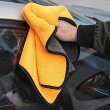 38x45 автомобиля уход, полировка мыть Полотенца s плюшевые микрофибры чистки автомобиля полотенце для мойки и сушки Полотенца прочная широкая плюшевая Полиэстеровая волокна салфетка для чистки автомобилей