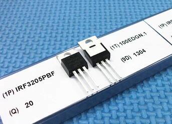 موصل IRF3205 IRF3205PBF, 55 فولت 110A 100% واط TO-170 PNP MOSFET x 220 قطعة ، جديد وأصلي 100