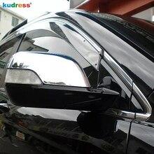 Para honda crv CR-V 2007 2008 2009 2010 2011 abs chrome vista traseira do carro de volta espelho retrovisor porta capa guarnição acessórios