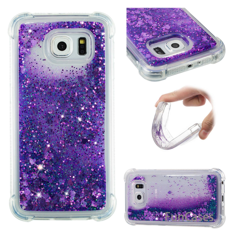 Estrella Rosa caso de la sFor Funda Samsung S6 suave TPU teléfono celular tapa mate Funda de silicona de la sFor Samsung Galaxy G9200 nuevo cobertura