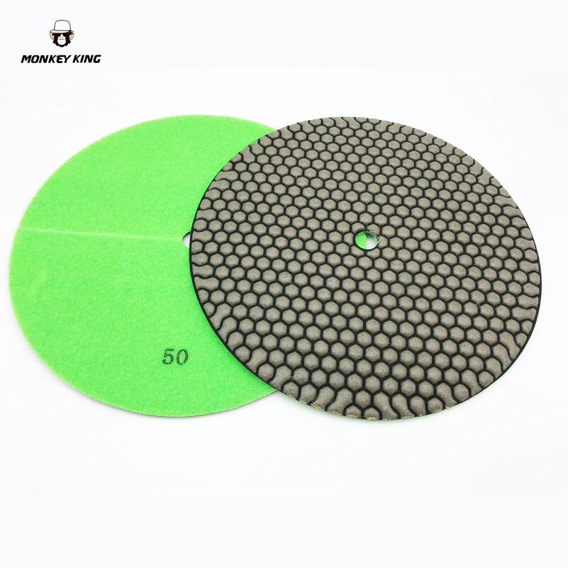 9 Inch 230mm Marble Granite Soft  Dry Diamond Polishing Pads