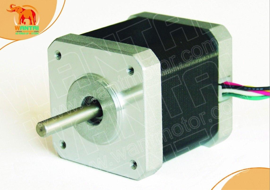 4 cables Nema 17 Motor paso a paso 4000g. cm, 1,7a CNC corte y Molino de wantai 42BYGHW609 3D Reprap impresora
