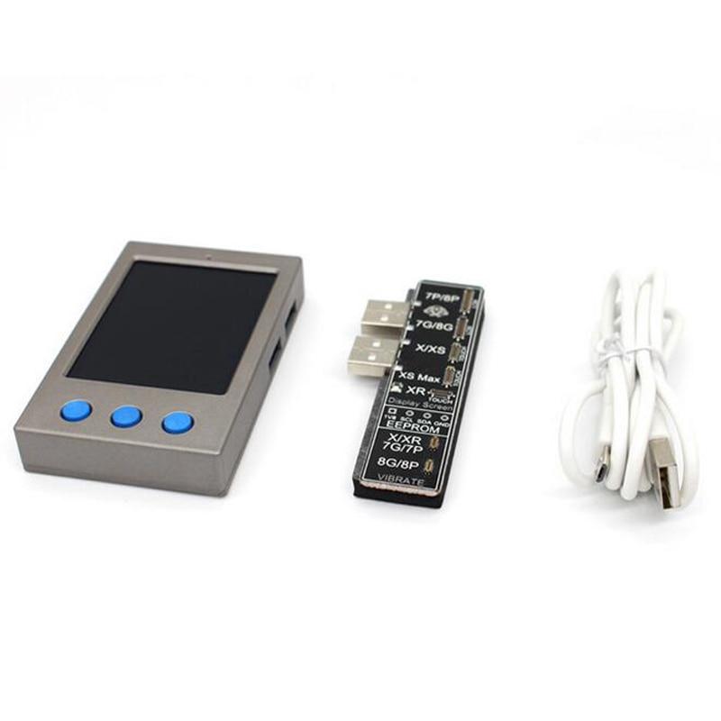 W13 LCD Sensor de luz ambiental vibrador reparación pantalla IP EEPROM programador para iPhone 7/7 Plus/8/8 Plus /X/XS herramientas de prueba máx.