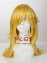 In Stock~Super Mario Galaxy Wii U Rosalina & Luma Cosplay Yellow Wig mp003134