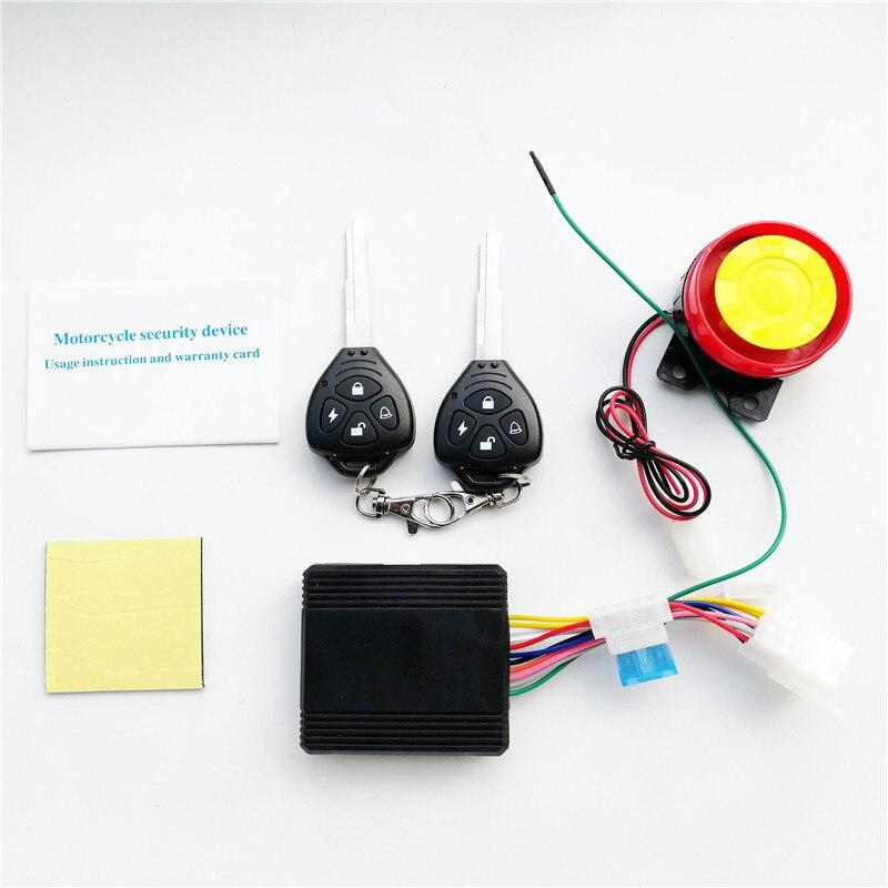Sistema de alarma para motocicleta, arranque remoto, protección antirrobo, accesorios de activación con 2 teclas inteligentes para Harley