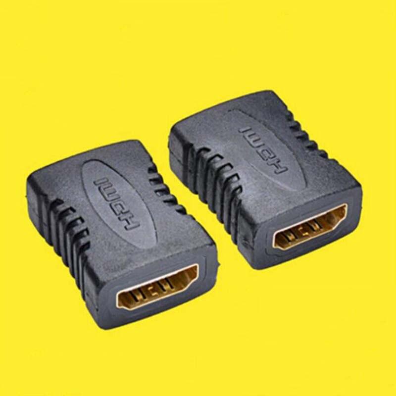 10 Uds conector de ordenador HIMI hembra a hembra F-F recto Cable adaptador hembra Cable de ordenador negro