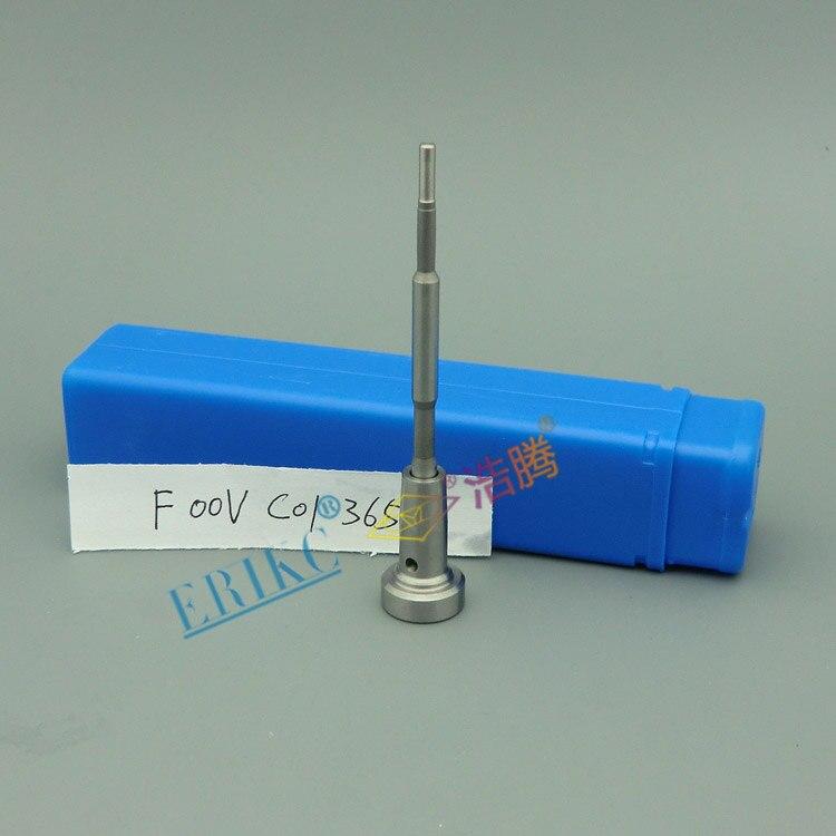 ERIKC F00VC01365 F00V C01 365 Bos/ch aceite partes de motor Diesel válvula de inyección partes de bomba de Control F ooV C01 365