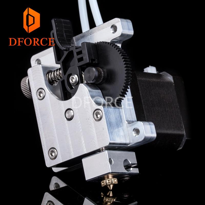 DFORCE-آلة بثق TITAN AQUA للطابعة ثلاثية الأبعاد ، ترقية diy ، تبريد المياه ، آلة بثق e3d hotend لـ tevo 3d
