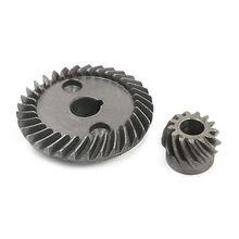 Juego de engranajes cónicos en espiral de Metal de repuesto para máquina pulidora de FF03-100