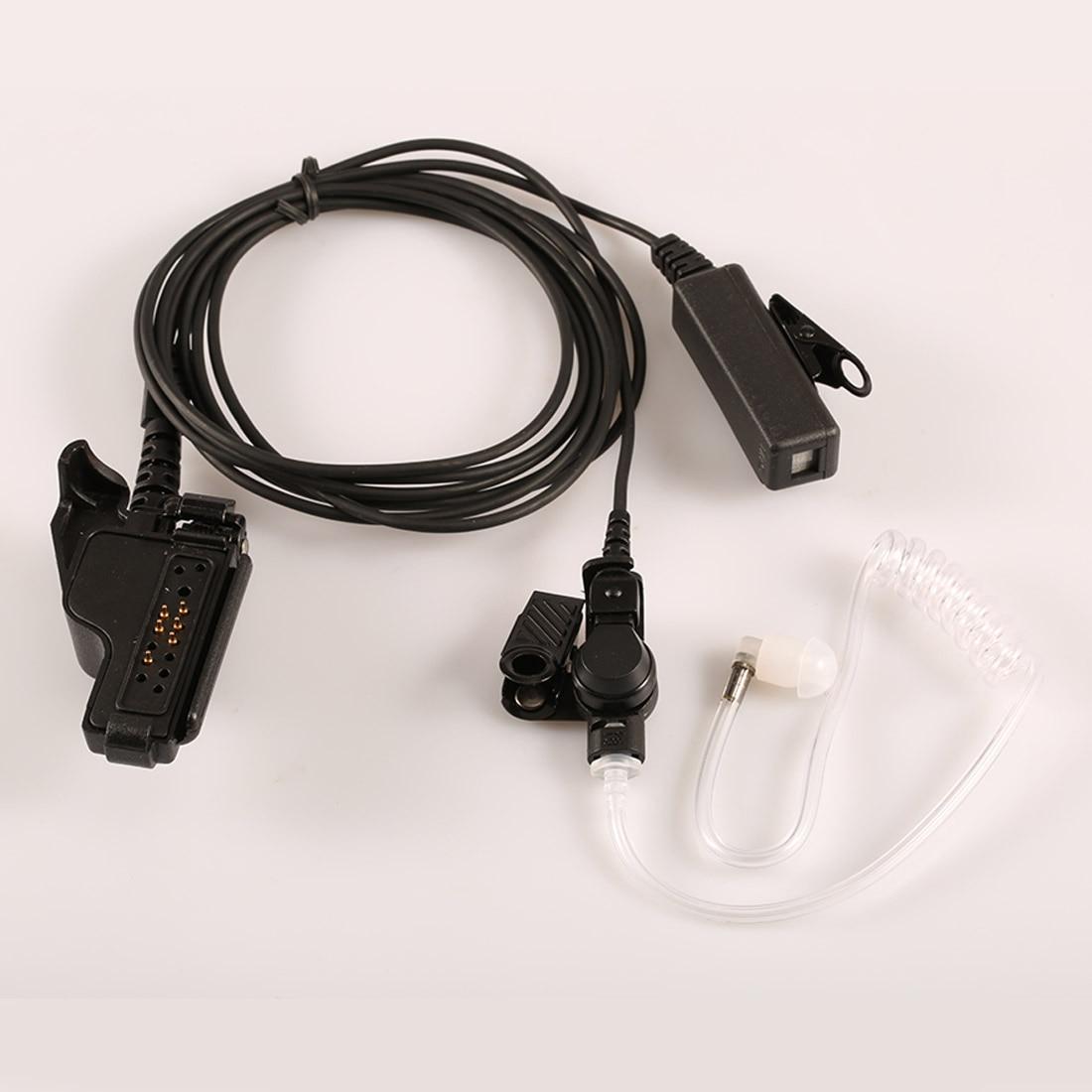 모토로라 HT1000 XTS3000 XTS5000 2500 핸드 헬드 양방향 라디오에 대 한 마이크와 안티 방사선 워키 토키 PTT 헤드셋