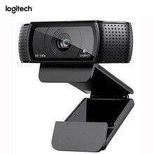 Logitech Pro C920 Webcam HD Smart 1080 p web cam Widescreen Skype Video Call Laptop Usb Kamera 15MP Web Kamera für Computer
