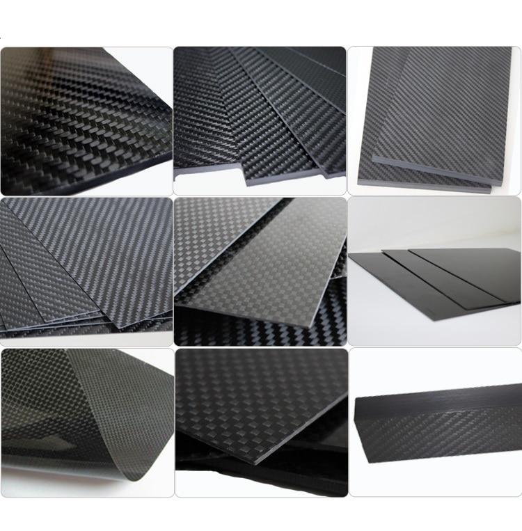 3k панель из углеродной пластины 0 5 1 2 3 плоская твиловая плетеная матовая