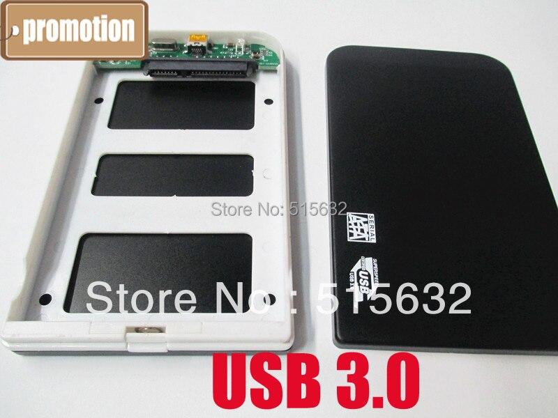 """Nueva llegada 2,5 """"USB3.0 SATA disco duro externo caja/enchufe de carcasa y reproducción"""