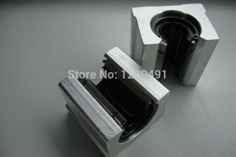 4 PCS/LOT SBR25UU CNC Linear Ball Bearing , SBR25UU Linear Motion Bearing 2 pcs linear guide sbr16 1500mm linear rail and 4 pcs sbr16uu linear bearing blocks for cnc parts