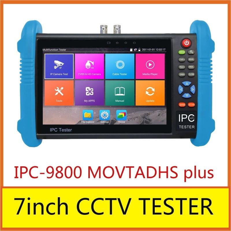 Nuevo probador todo en uno de pantalla táctil para IPC-9800 MOVTADHS plus con salida HDMI resolución de 1920*1080P