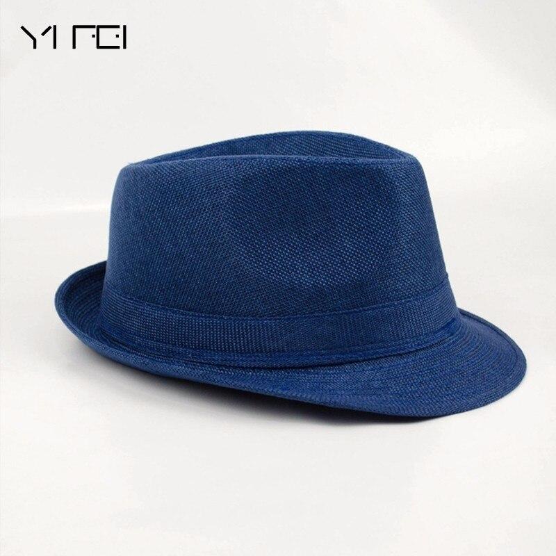 2018 Brand New Fashion Floppy Jazz Hat Pure Men Women's Large Brim Caps England Classic Style Formal Hat Vintage Popular Caps
