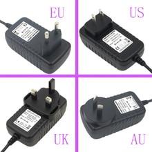Новый AC 100-240 В к DC 13,5 в 1.5A импульсный источник питания конвертер адаптер Универсальное зарядное устройство US/EU/UK/AU штекер DC 5,5*2,5 мм