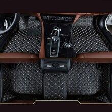 BMW 2 시리즈 컨버터블 2015-2019 PU 발 매트 방수용 맞춤형 카 바닥 매트