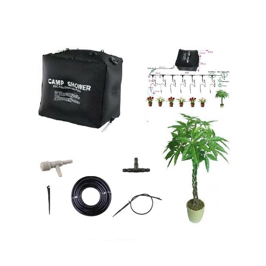 Sistema de Irrigação Potes de Flores Kit de Irrigação por Gotejamento Sistema de Irrigação em Casa para 8 Bonsai Automática Micro Casa para 8 50 Dias 40l em