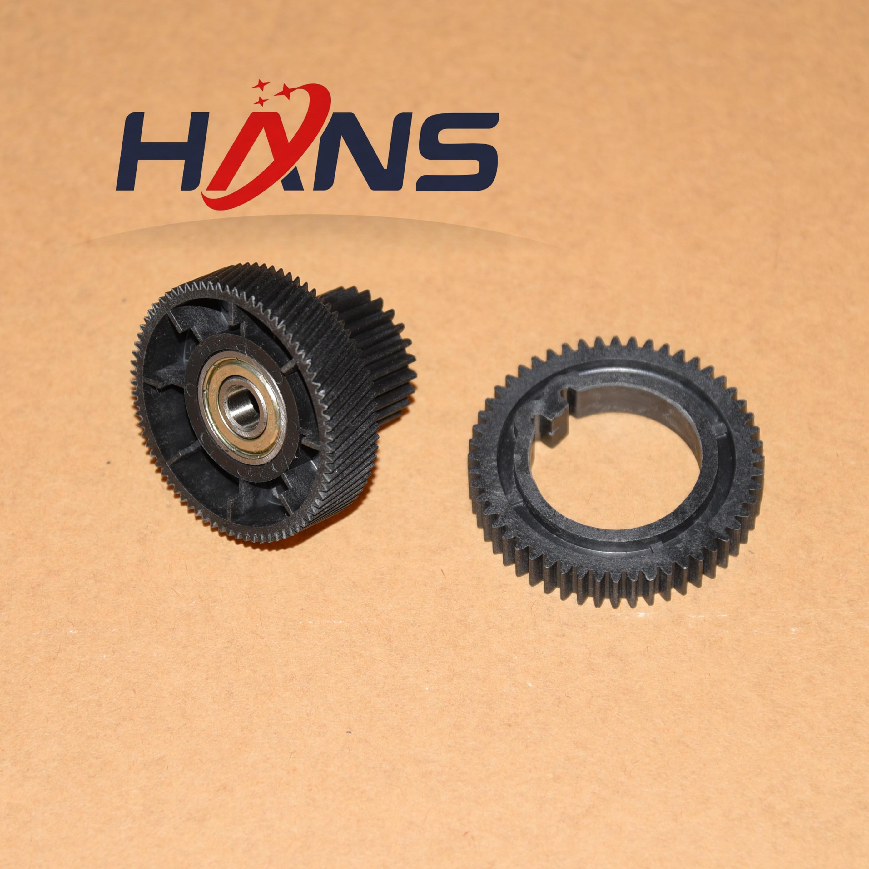 2Sets. FS7-0007-00 Upper Roller Gear+FS7-0006-000 Fuser Motor Drive Gear for Canon IR7105 IR7095 IR7200 ir 7095 7105 8500 7200