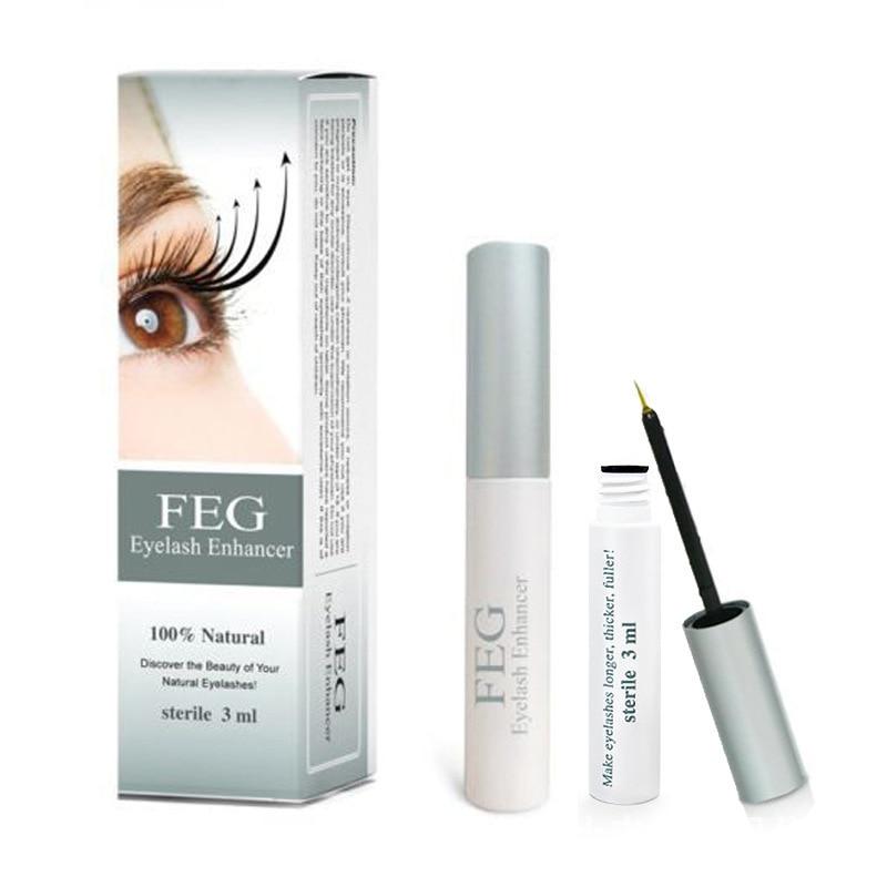 FEG Eyelash Growth Enhancer Natural Medicine Treatments Lash Eye Lashes Serum Mascara Eyelash Serum Lengthening Eyebrow Growth
