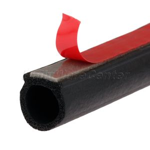 Image 5 - Маленькая d образная уплотнительная лента для автомобильных дверей, 8 метров, EPDM, каучук, шумоизоляция, защита от пыли, звукоизоляция, уплотнительная лента для багажника двигателя