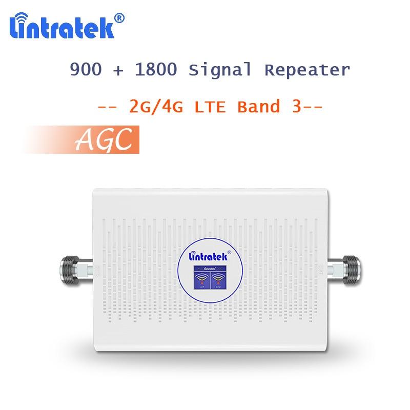 Repetidor 900 de 1800 (FDD) DCS Amplificador de señal de teléfono móvil...