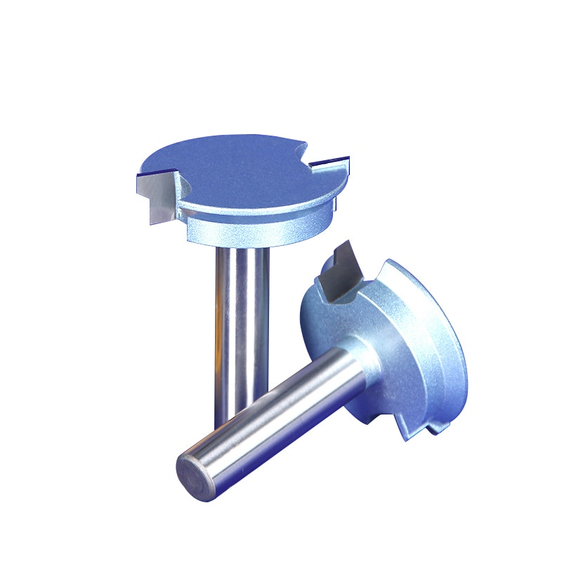Tipo de cunha 1/2 haste 1/2*2 bits do roteador 40mm diâmetro 67.7mm comprimento total entalho cortador bit para carpintaria carboneto de tungstênio