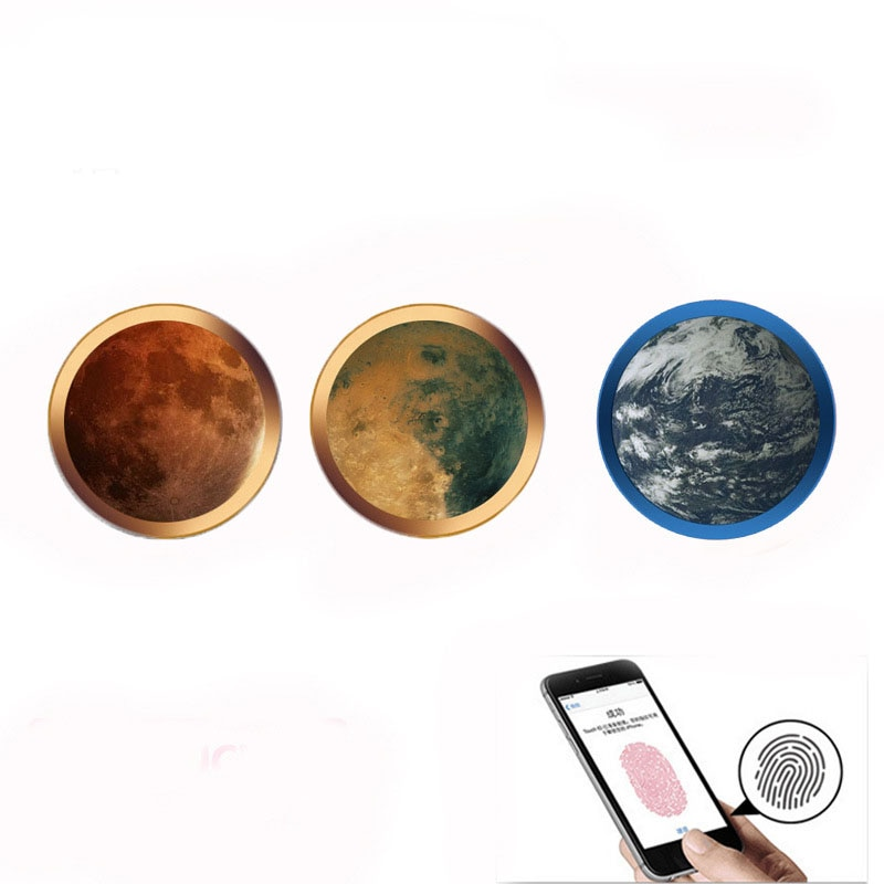 10 Pcs/lot univers tactile ID capteur accueil bouton autocollant pour iPhone 5 S SE 6 6 S 7 8 Plus X pour Ipad air 2 mini 4 empreinte digitale clavier