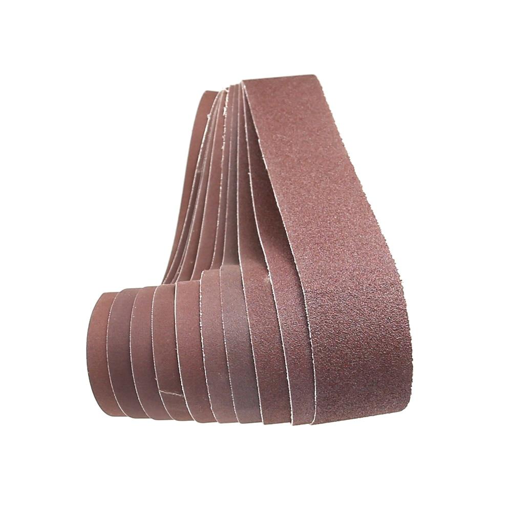 1 bucată centură abrazivă de 686 * 50mm, bandă de șlefuit pentru lustruirea lemnului și a metalelor moi