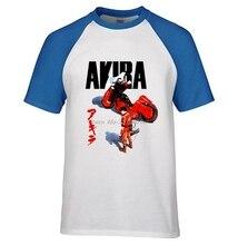 Akira Cult 1988 Japanese Animated Sci Fi Film T Shirt Mens Tokyo Tees 100% Cotton Raglan Sleeve T-shirt