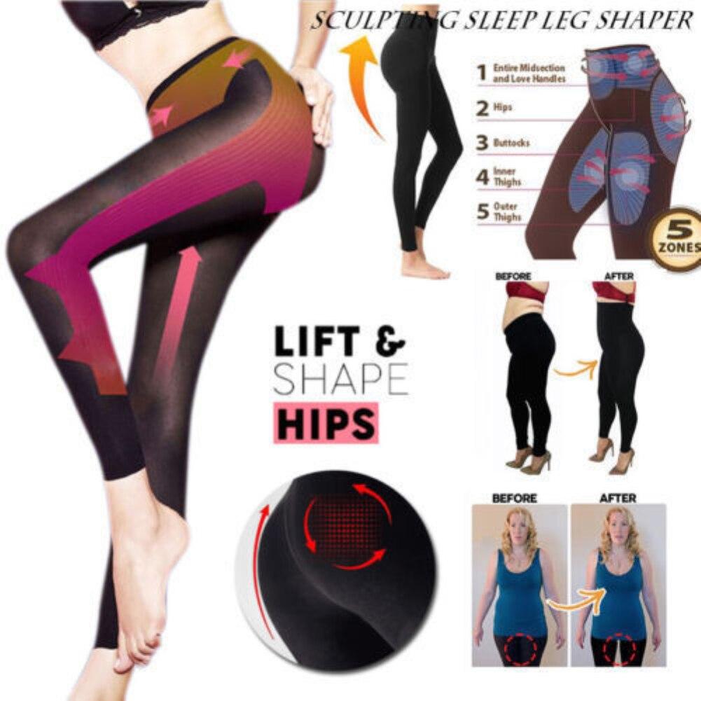 Herramienta para esculpir las piernas del sueño-moldeador adelgazante de las mujeres-Nuevos pantalones SEXY calcetines leggings herramienta de belleza Dropship