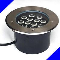 Free Shipping 9W12W LED underground light AC85-265V Cool/Warm White bar/stage/garden floor outdoor lighting
