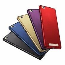 Housse de protection pour Xiaomi Redmi 4A luxe givré bouclier PC dur en plastique sac de téléphone coque pour Xiaomi Hongmi Redmi 4A 4 A 5.0 pouces Capa