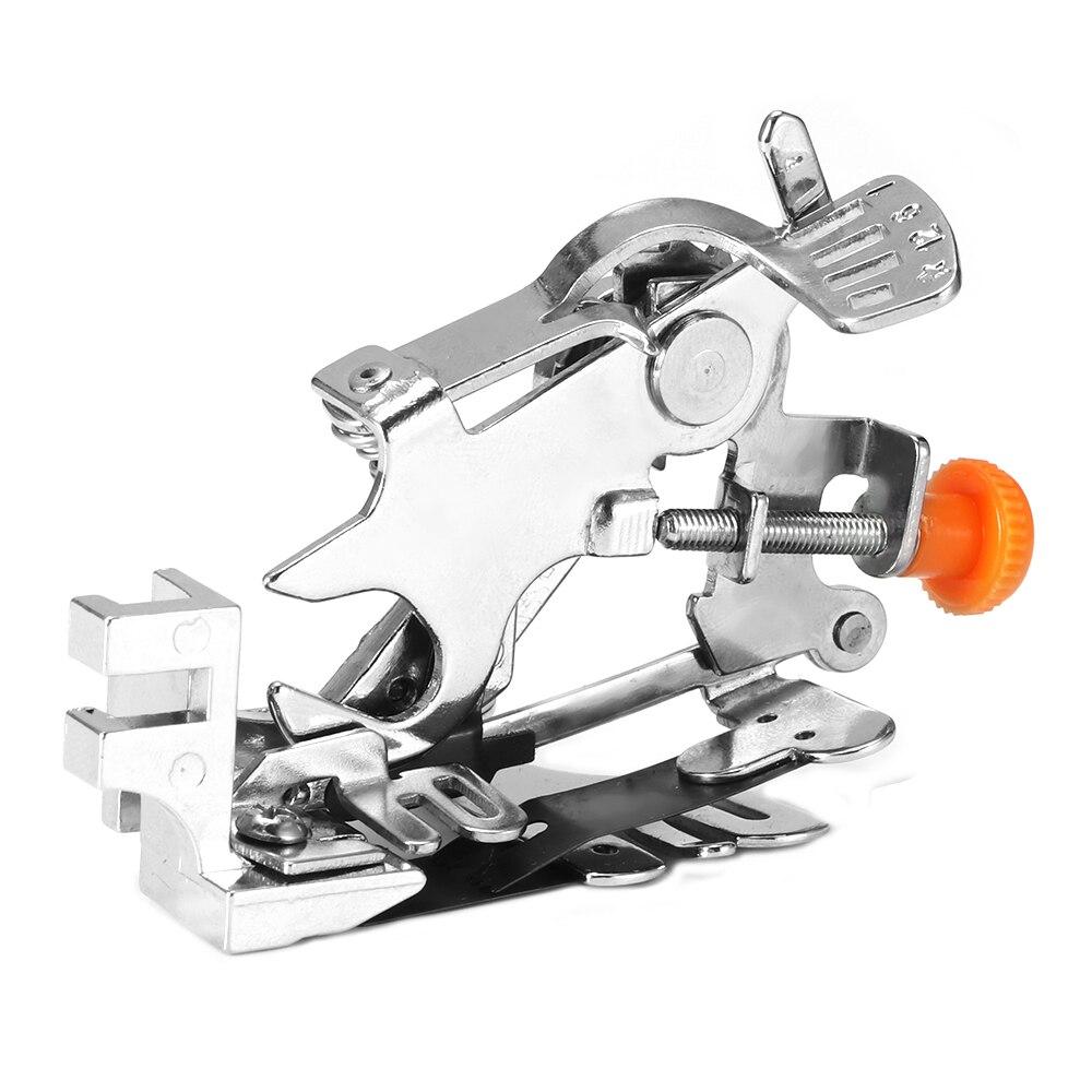 1 Pza máquina de coser para el hogar Ruffler pies de pie para Ruffling herramientas de coser para máquinas de coser prensadora de pies Ruffler