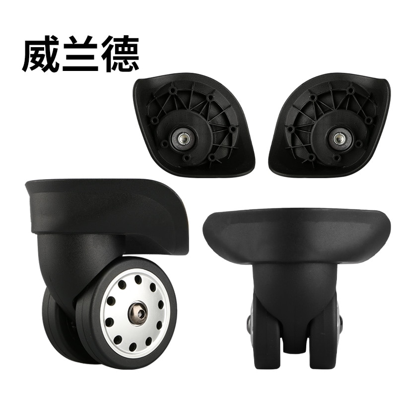 aequeen suitcase wheels repair replacement parts for luggage 40 wrench od 75mm travel luggage rubber wheels for suitcase 2 pcs Luggage replacement wheels,Repair  Luggage wheel folding  Spinner wheels Replacement,wheels for suitcases,Suitcase casters