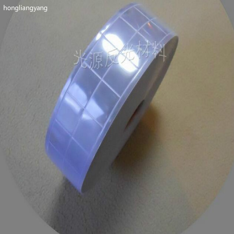 Light purple high reflective fabric clothing reflective tape sew reflective clothing tape wide 5cm free shipping