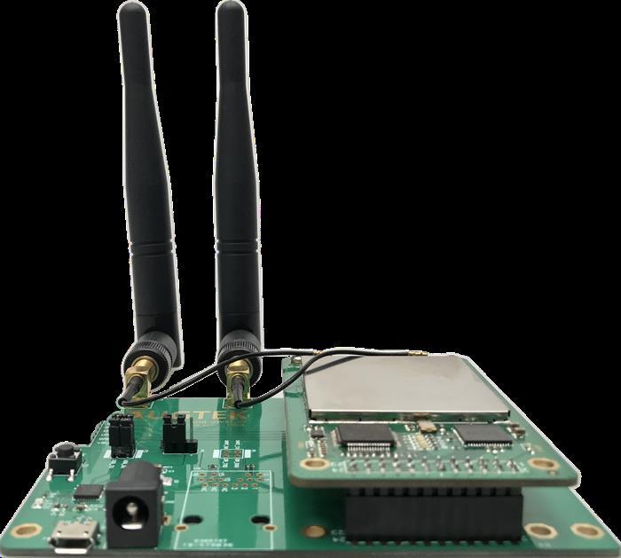 Placa de desarrollo LoRa passthrough gateway SX1301, placa de desarrollo de transmisión transparente, a través del puerto serial SX1276 LoRa