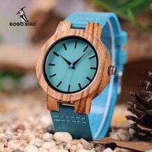 BOBO BIRD LC28 montres en bois mode Antique Erkek montre avec bracelet en cuir montre à Quartz décontractée pour unisexe dans la boîte-cadeau en papier