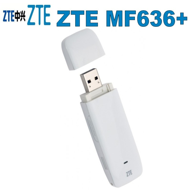 Oranje ZTE MF636 + HSUPA USB Modem 3G Internet Surfstick 7.2 Mbit