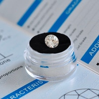 Свободные Муассанит 1.0ct карат 6,5 мм цвет GH круглой бриллиантовой огранки VVS1 кольцо браслет ювелирных украшений Hand-Made материал лаборатория
