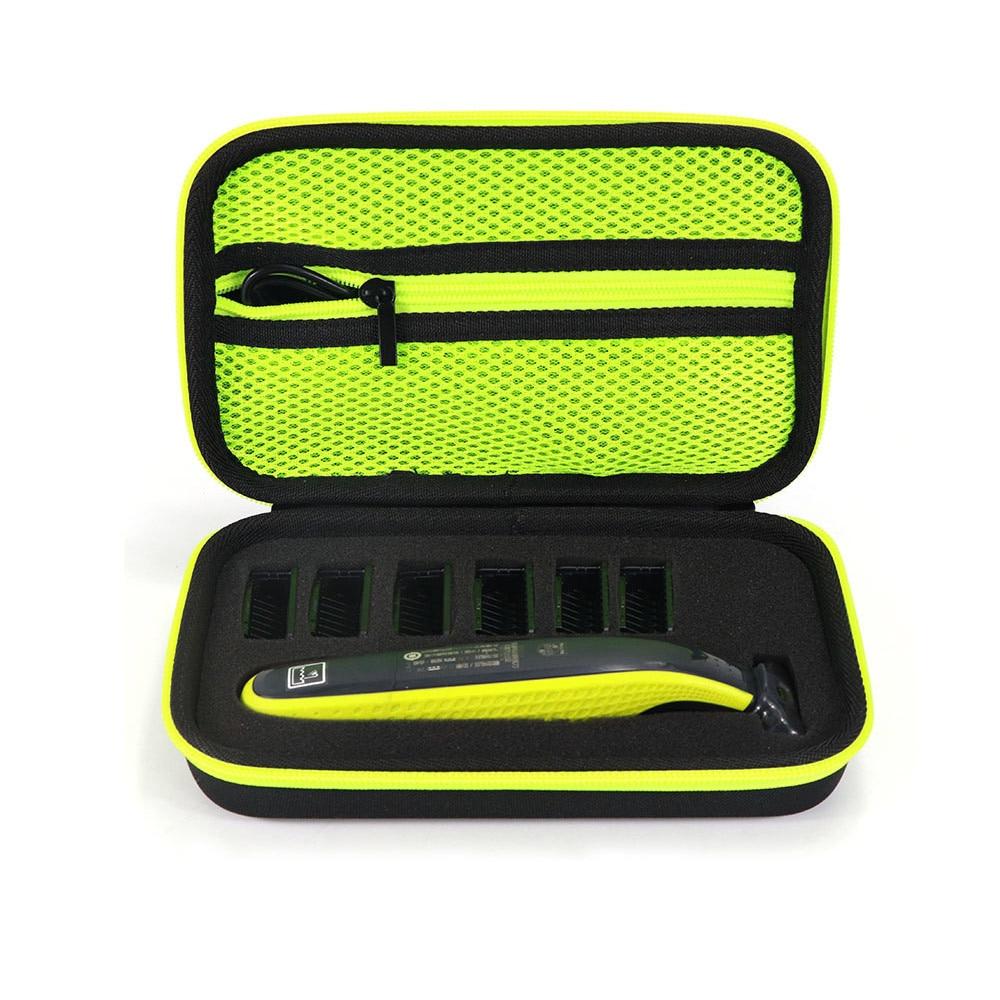 Nueva funda portátil dura para Philips OneBlade recortadora y accesorios EVA bolsa de viaje caja de almacenamiento