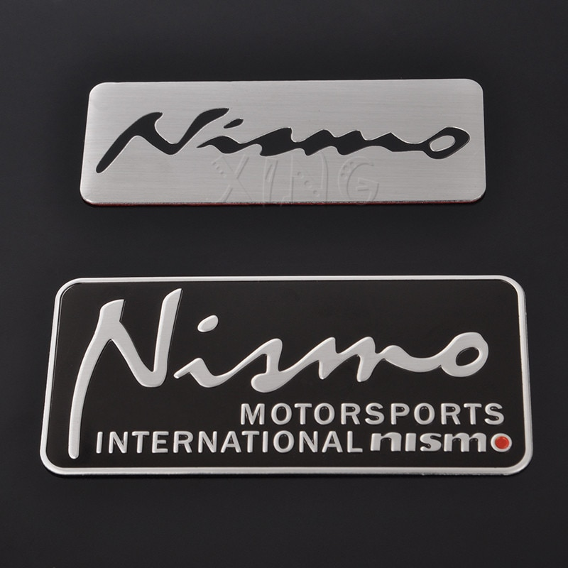 Car Sticker Auto Badge Emblem Decal For Nissan Nismo Almera Qashqai  Tiida Teana Skyline Juke X trailNote Motorsport Car Styling