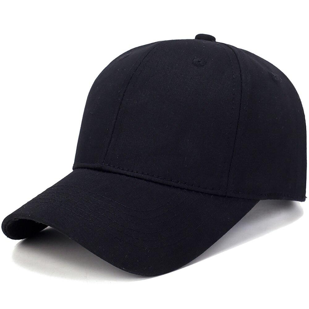 Gorra de béisbol para hombres y mujeres, gorra ligera de algodón, gorra snapback de Color sólido para hombres, sombreros de Sol para exteriores, gorras para hombre