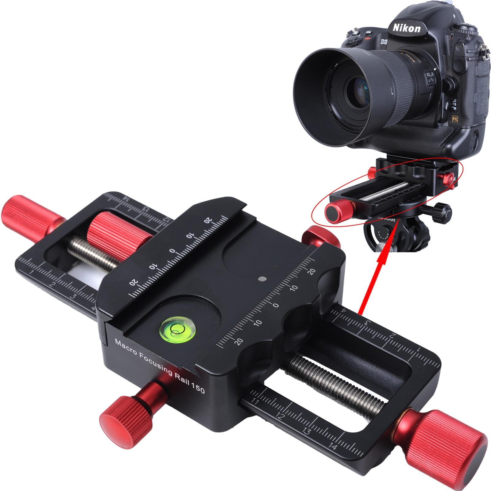 Направляющая для макросъемки 150 мм, направляющая для макросъемки с зажимом Arca-Swiss, БЫСТРОРАЗЪЕМНАЯ пластина для штатива с шаровой головкой
