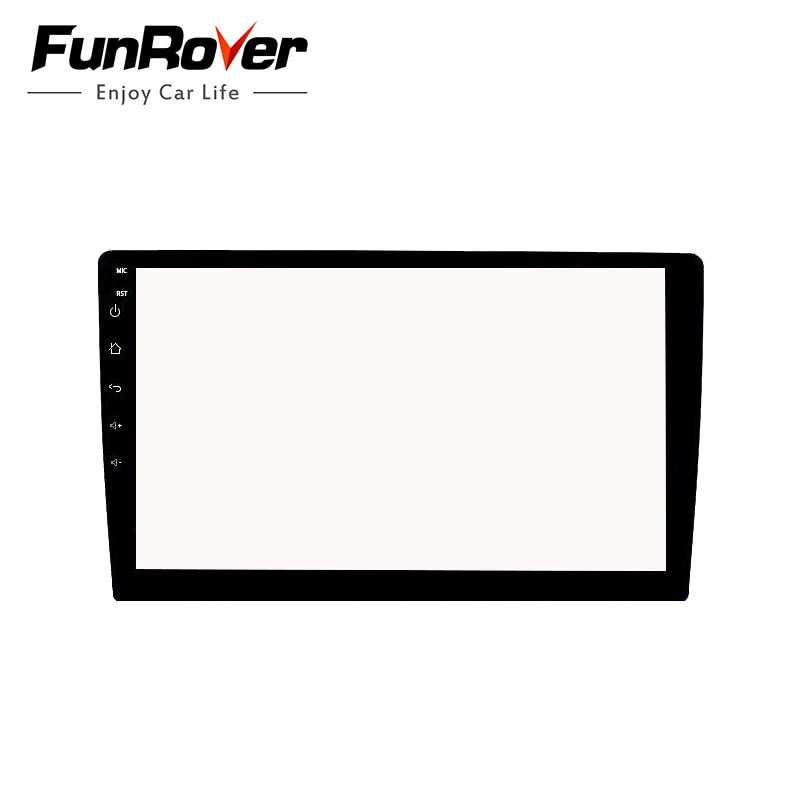 Funrover 10.1 polegada carro vidro temperado película protetora adesivo para rádio estéreo dvd gps toque tela lcd completa frete grátis