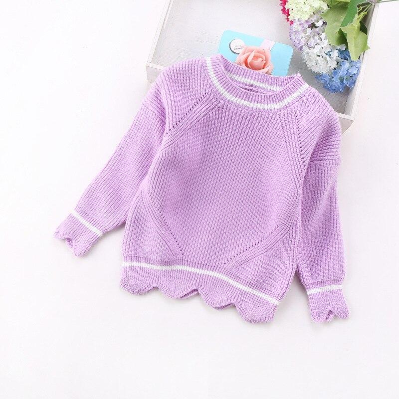 2020 nueva moda para chicas suéteres 2-8years de niños ropa de niños 8219